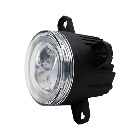 Nolden NCC 90 mm LED low beam headlight 3rd generation with design ring