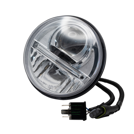 Nolden NCC 5.75 Bi-LED headlight, chrome, single