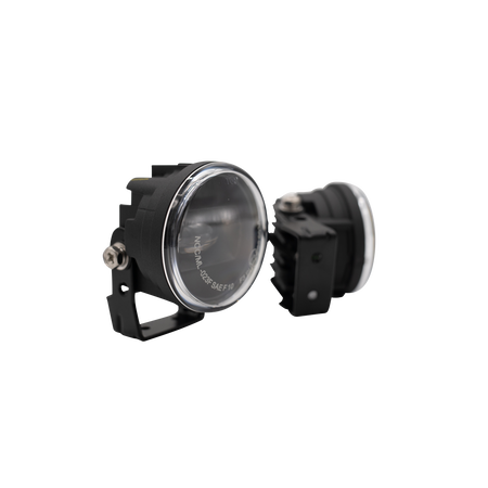 Nolden NCC 70 mm LED Fog light, Pair, incl. ECU, Black